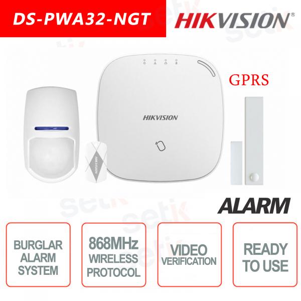 Les Composants D'un Système D'alarme Maison PACK HIKVISION MARRAKECH