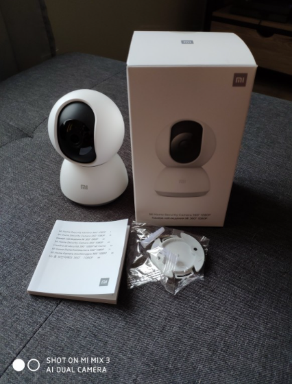 Caméra De Surveillance Ip Connectée Et Configurable Facilement Avec Une Application