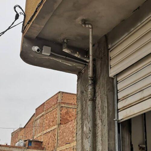 Installation Et Mise En Service De 3 Camera #hikvision Alarme #teletek #eclips8 Avec Télécommande Et Controle Du Rideau Temps De Réalisation 5h 👍