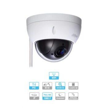 Caméra Dahua | Dôme | 2 MP | IP WIFI | Ref : DH-SD22204UE-GN-W | PTZ Motorisé | Zoom X4 | MARRAKECH
