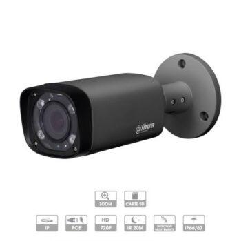 Caméra Dahua | Tube | 3 MP | IP PoE | Zoom X4 | Dark Grey | IPC-HFW2320R-ZS-IRE6-DG | MARRAKECH