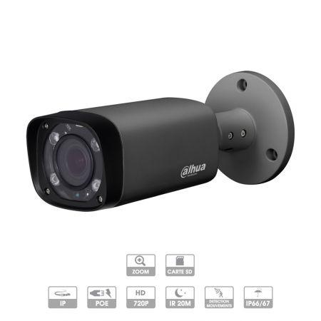 Caméra Dahua   Tube   3 MP   IP PoE   Zoom X4   Dark Grey   IPC-HFW2320R-ZS-IRE6-DG   MARRAKECH