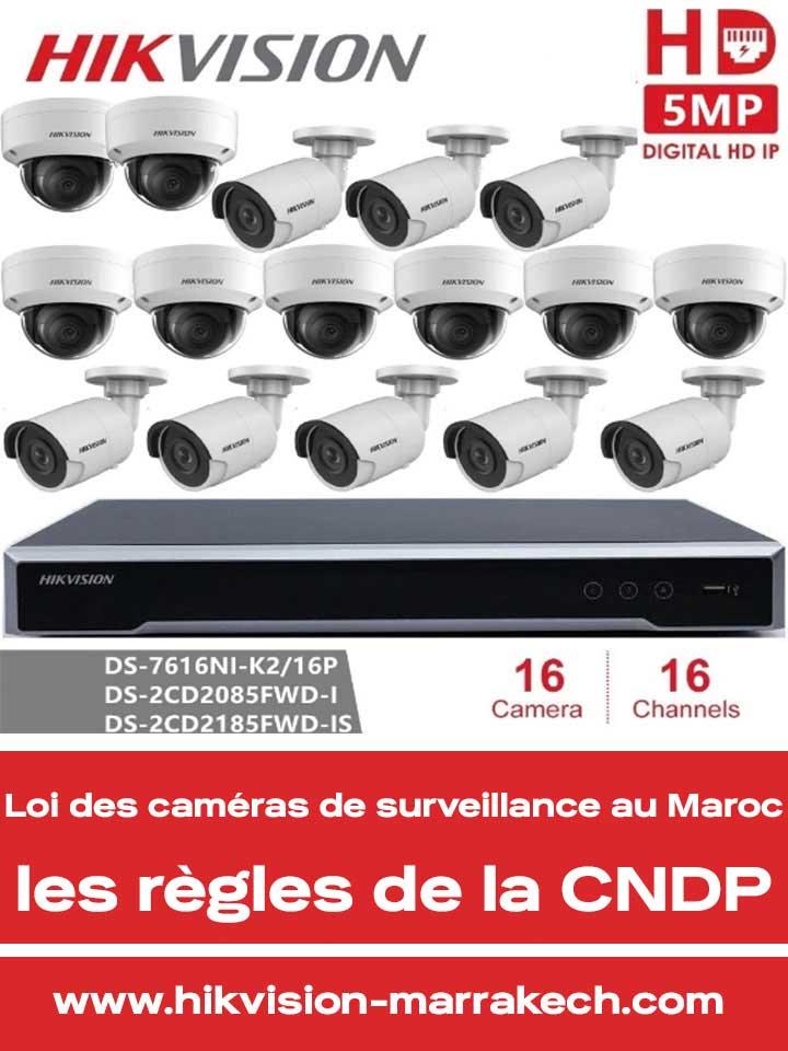 Loi des caméras de surveillance au Maroc ? Quelle procédure suivre ?
