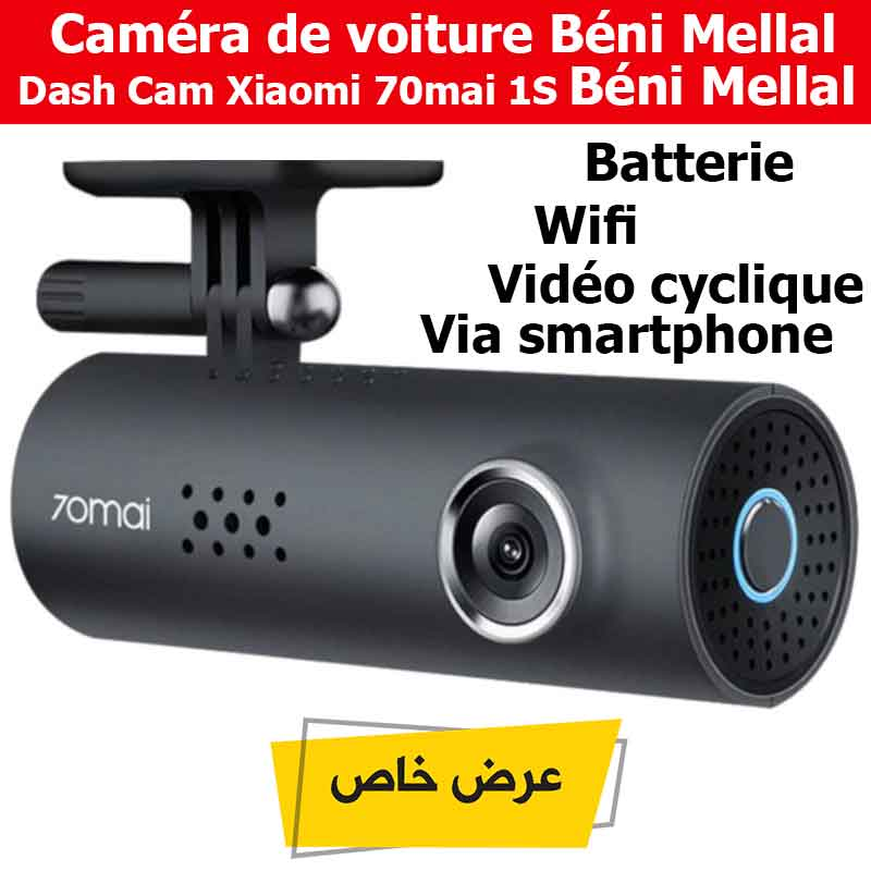 Caméra De Voiture Dash Cam Xiaomi 70mai 1S Béni Mellal
