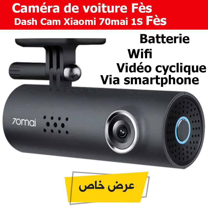 Caméra De Voiture Dash Cam Xiaomi 70mai 1S Fès
