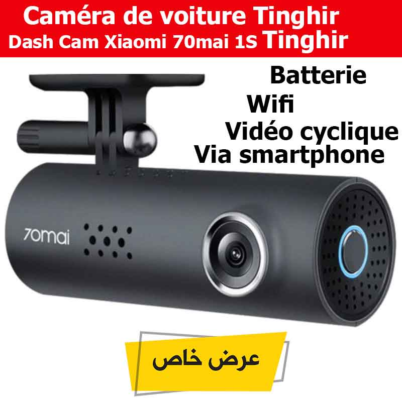 Caméra De Voiture Dash Cam Xiaomi 70mai 1S Tinghir