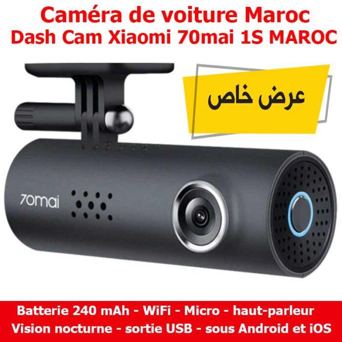 Caméra de voiture Dash Cam Xiaomi 70mai 1S Maroc